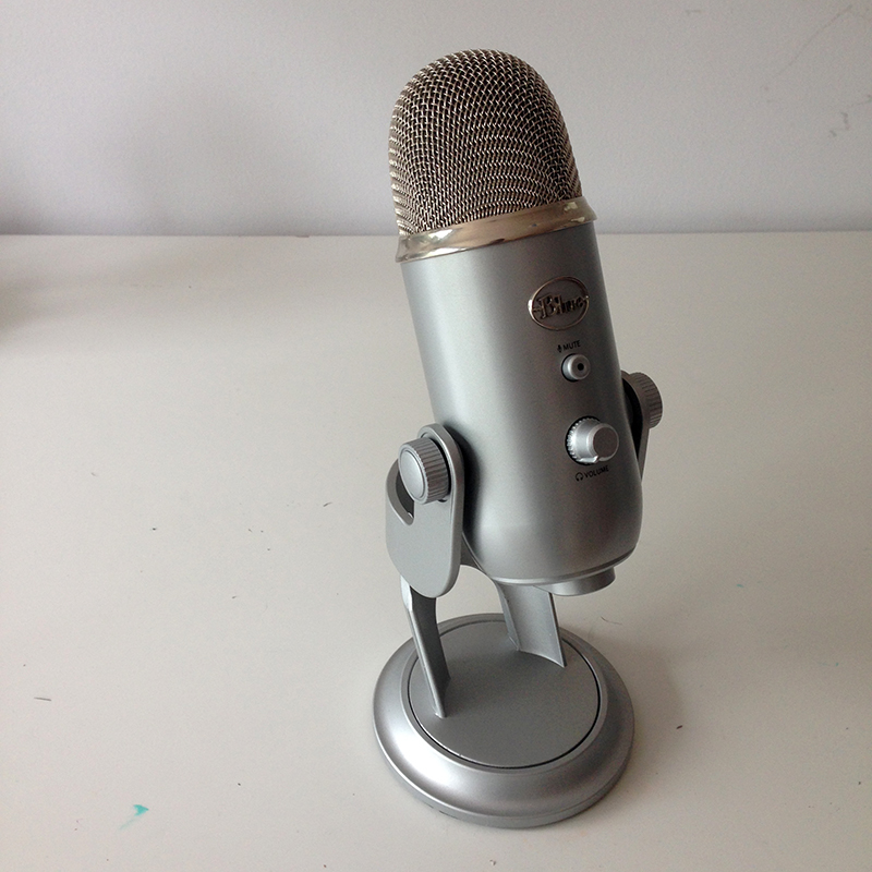 Podcast, baladodiffusion, blue yeti , blue, yéti, balado, minikim, podcast indépendant, enregistrement, micro, son, audio