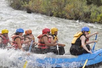 White water rafting in Yakima near Seattle, WA