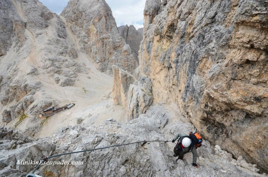 Dolomites-iron-cables-ways