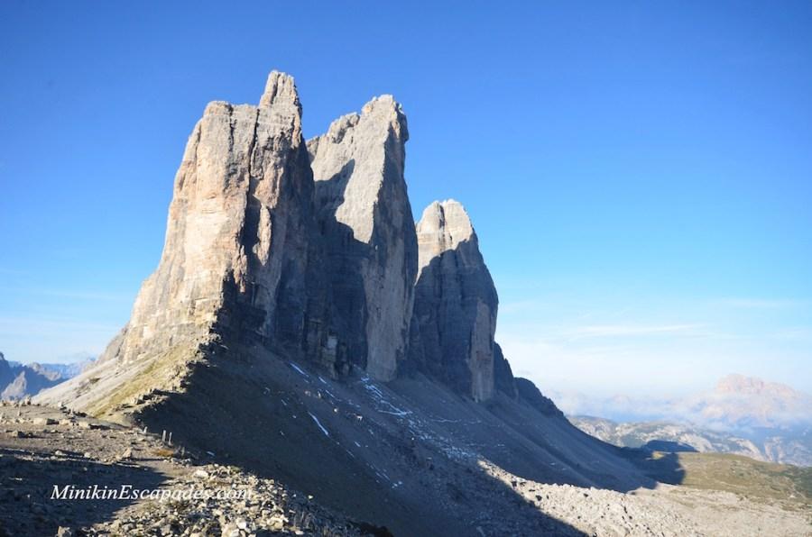 Dolomites tre cime national park