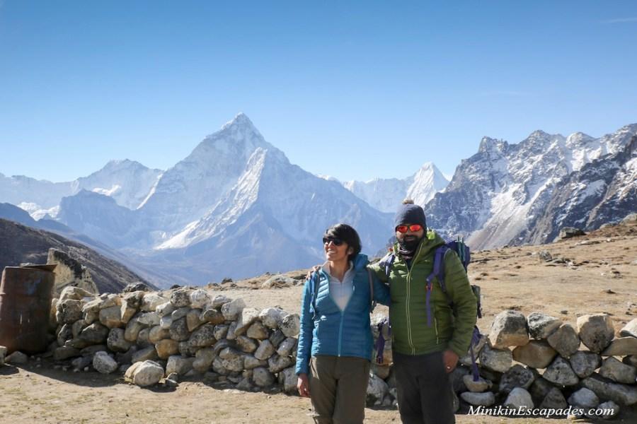 Mornings at the Dzongla village, Everest high passes trek