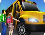 Süper Okul Sürücüsü 3D
