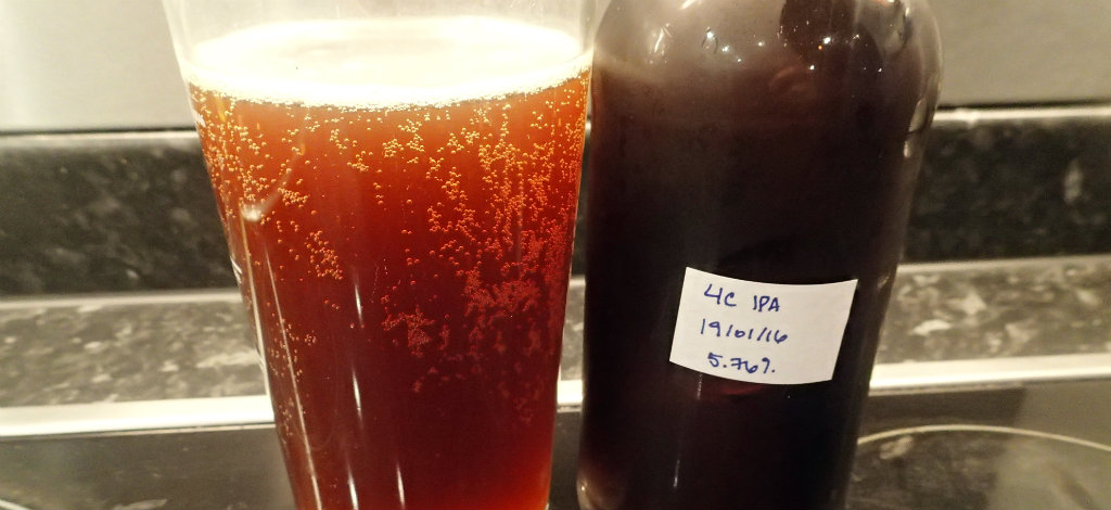 Strong carbonation and ruby colour