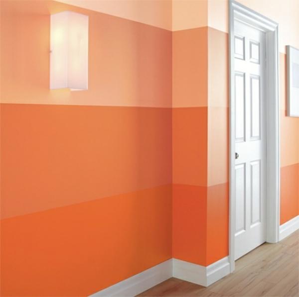 Yellow Orange Living Room