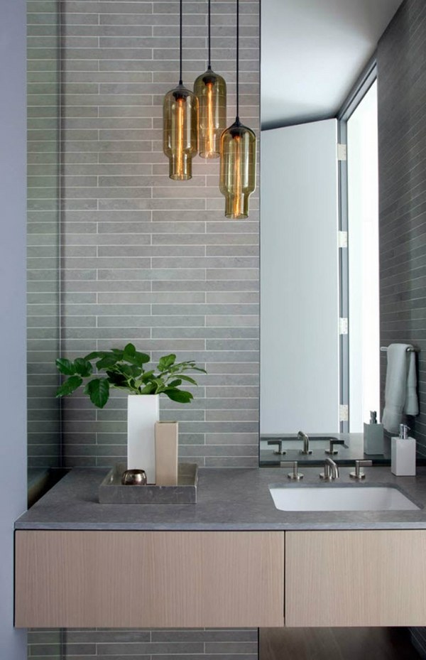 Bathroom Light Fixtures 25 Contemporary Wall And Ceiling Lamps