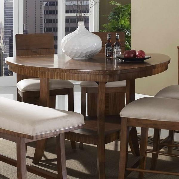 pequeños muebles de cocina Ideas triángulo mesa de comedor bancos de madera