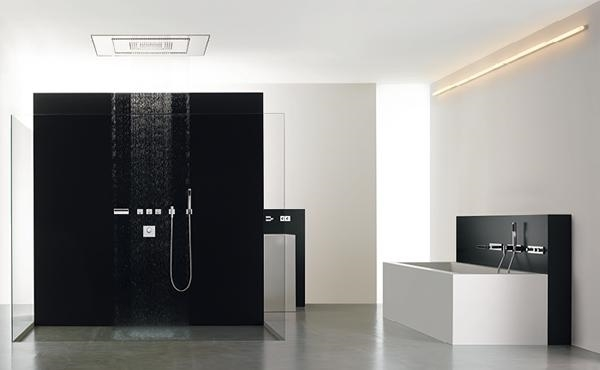 cerramientos de vidrio baño de ducha de vidrio diseños modernos ideas de baño minimalista