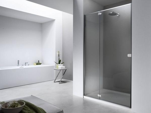 caminar en ideas de la ducha de vidrio cabina de ducha de diseños de baño minimalista