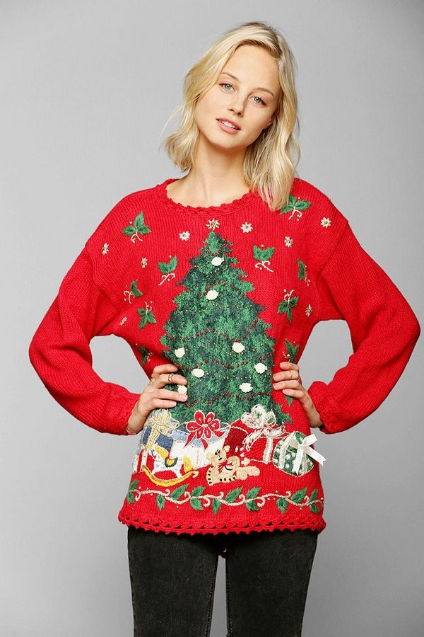 Image result for cute tacky christmas sweaters