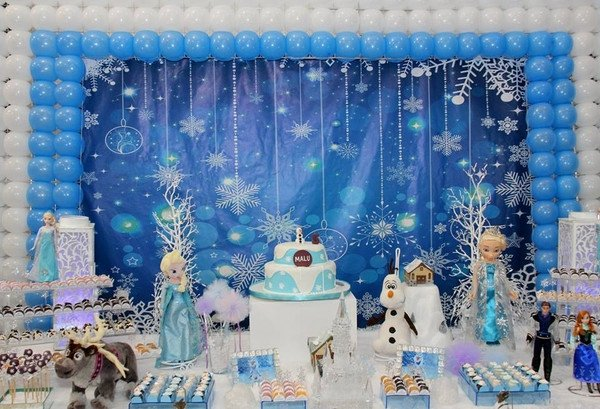 Frozen Christmas Decorations Ideas For The Best Kids