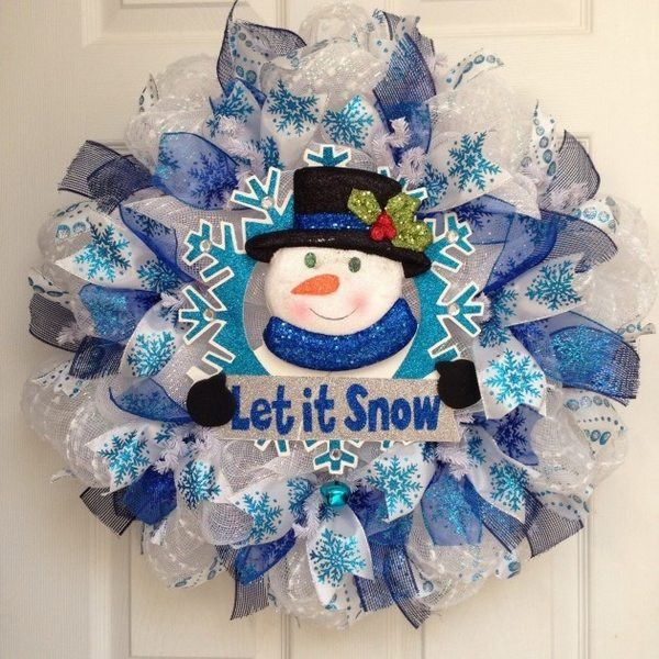 Winter Wreaths Ideas How To Choose The Style Color And Materials