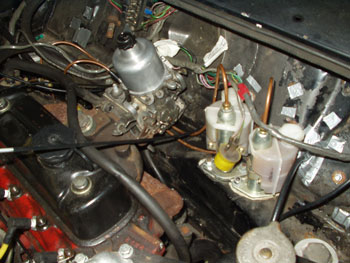 Mini Clubman Engine Compartment