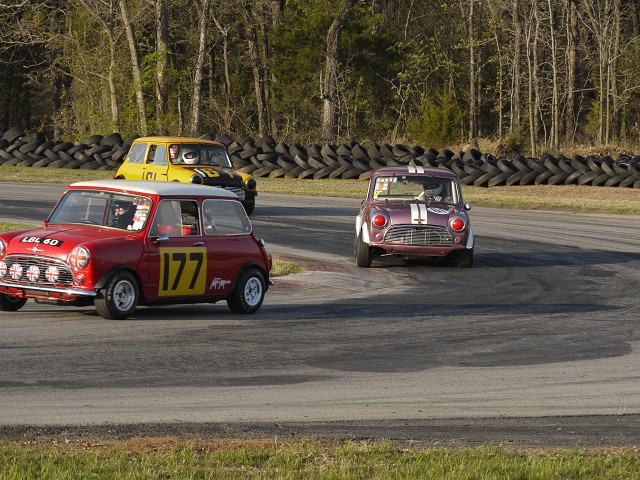 Dennis Racine at Hallet Raceway - Mini Mania Inc.