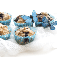 Sockerfria blåbärsmuffins