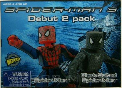 Minimate Database Spider Man 3 Debut 2 Pack