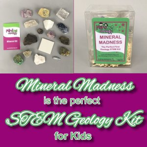 Mini Me Geology's Mineral Madness is the Perfect STEM Kit