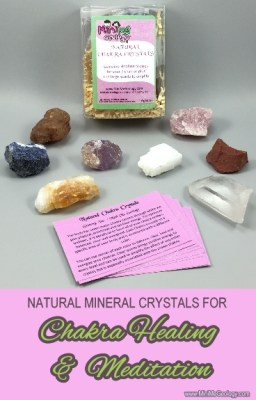 Natural Minerals for Chakra Healing & Meditation