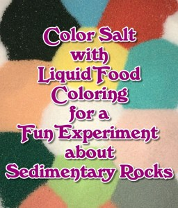 Colored Salt Sand Art