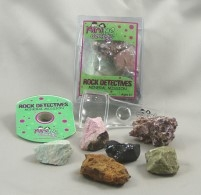 Mineral Mission is one of several Rock Detectives kits available from MiniMe Geology