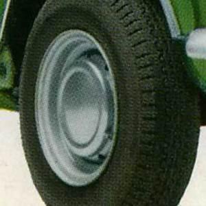 Cerchio in lamiera Innocenti Mini Cooper Mk1