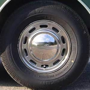 Coppa ruota Innocenti Mini Minor Mk1