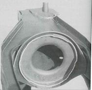 Foto 2 - Sede Hydrolastic nel telaietto posteriore