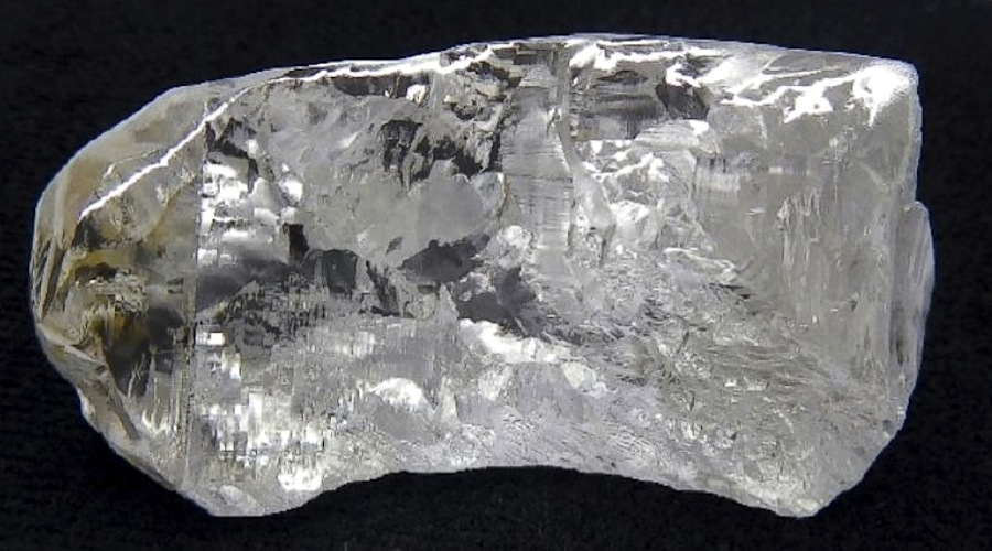 This is the 68-carat diamond Lucapa just found at its Lulo mine in Angola -  MINING.COM