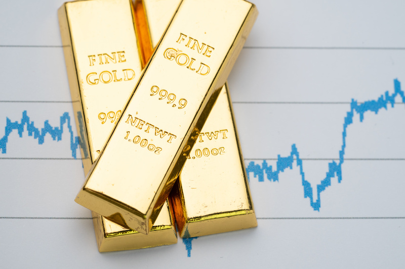 Gold continues to surge
