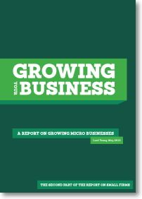 Growing Your Business: a report from Lord Young