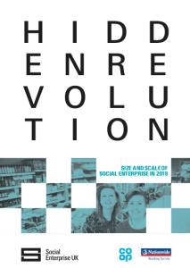 Hidden Revolution, social enterprise - cover image and web link