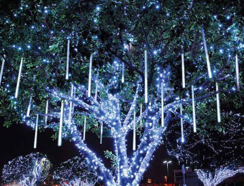 LED Falling Meteor Falling Snow Blizzard Tube Light Sets