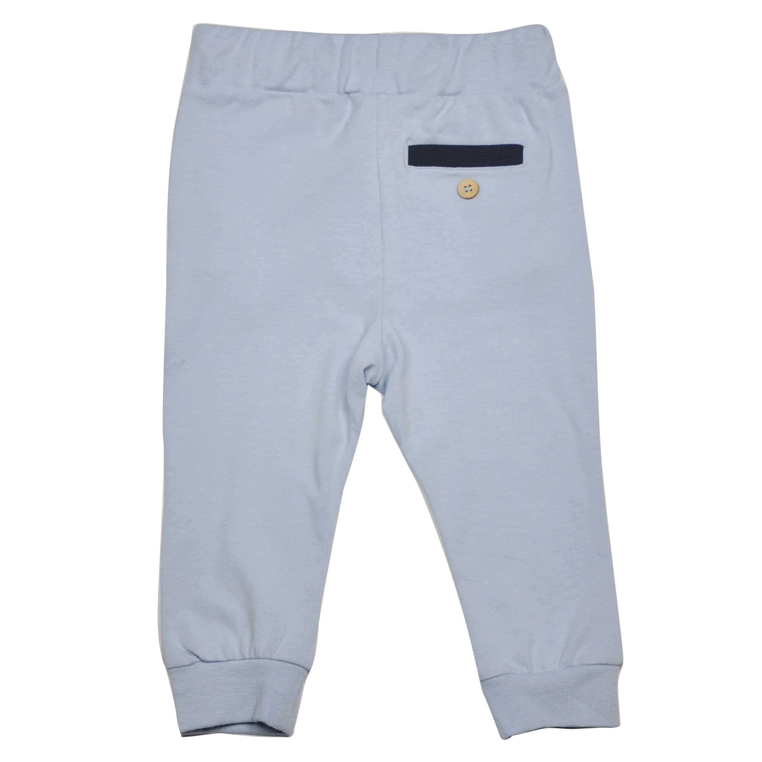 Bukse med lommer - lyseblå bak