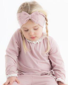 Rysjegenser – Støvet rosa (B-vare)