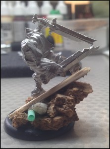 Malifaux - Witchling Stalker WIP 2