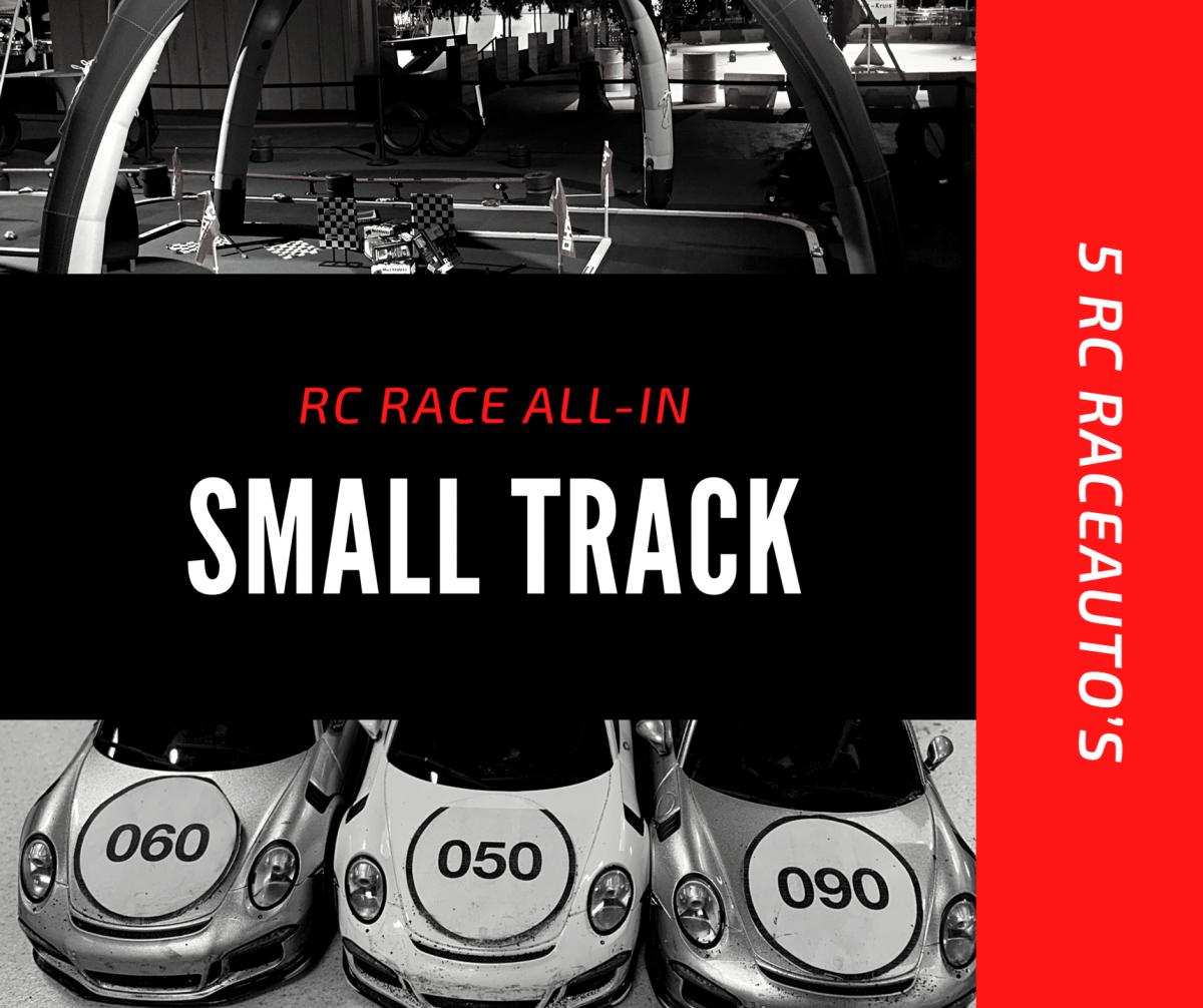 Racebaan small track huren