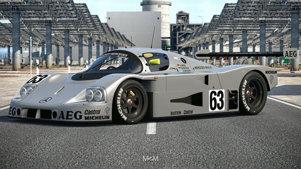 Mercedes Sauber RC Racebaan