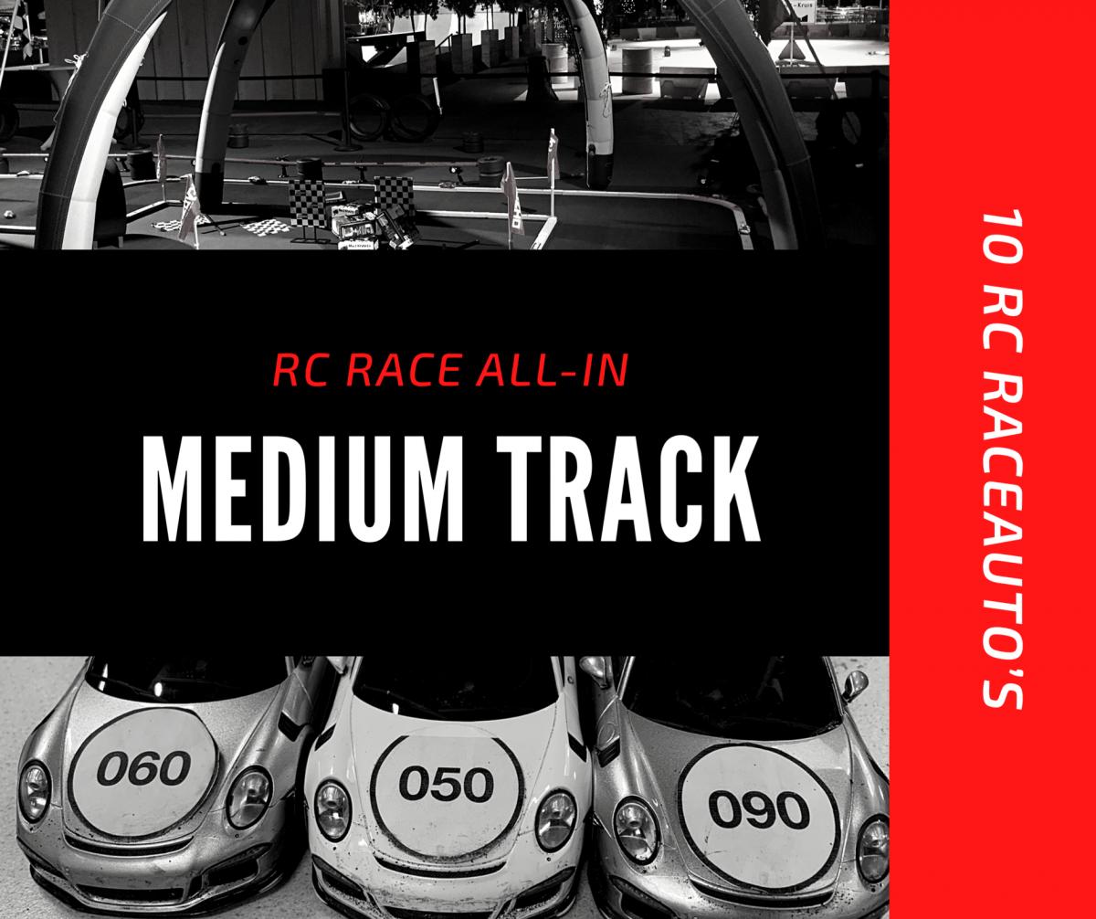 Racebaan Medium Track huren