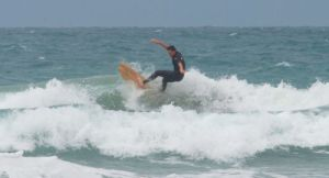 Kiri Surfcraft Mini Simmons Rider