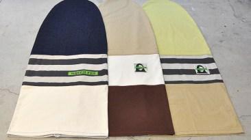 Green Fuz Mini Simmons Socks