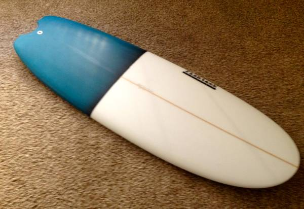 For Sale: 5'4 Fishtank Mini Simmons. Easy paddling, planing, and responsiveness on the turns. $420.00