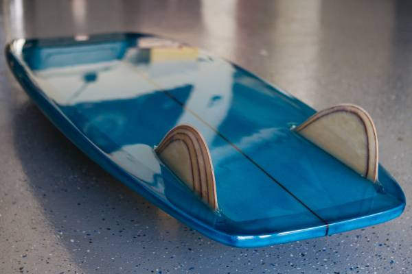 """For Sale: 5'4"""" DONO Surfboards Mini Simmons - $475 (Oceanside)"""