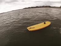 "OC Boys ""Mini Simmons"" Surfboard Water Test"