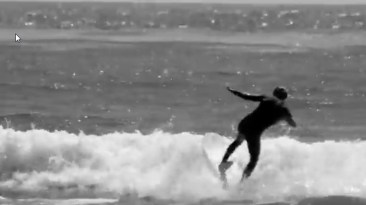 Sterling Surfing A Mini Simmons Surfboard
