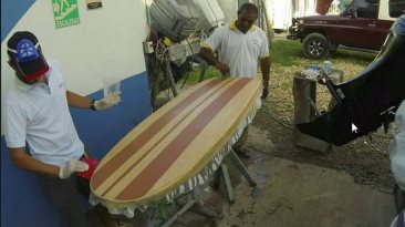 Wooden Hollow Board