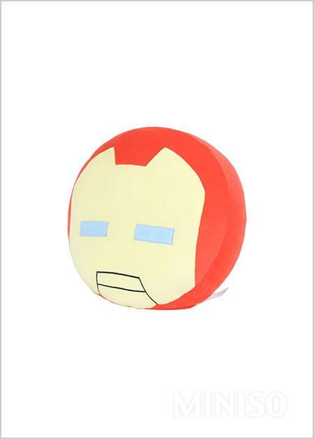 marvel throw pillow iron man miniso australia