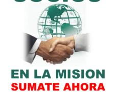 Asociate a hacer misiones