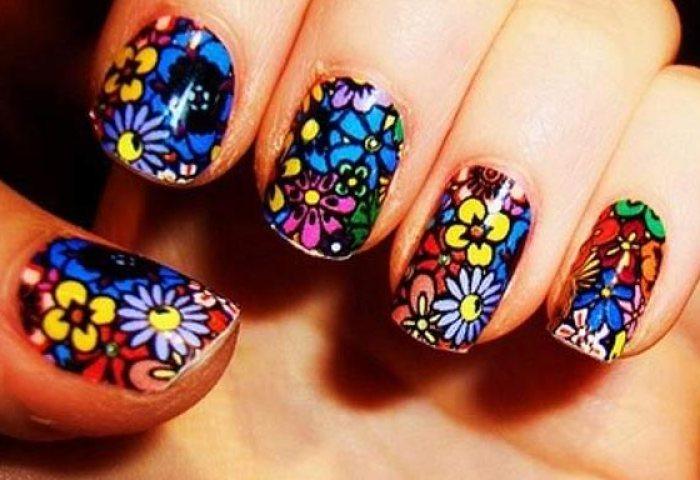 75 Ideas De Diseños De Uñas Con Flores Decoradas Ministrosorg