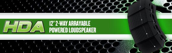 Mackie HDA Speaker System   MinistryAV