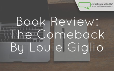 Book Review The Comeback | Ministry Bubble