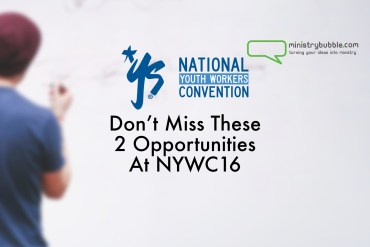 Don't Miss These 2 Opportunities At NYWC16   Ministry Bubble
